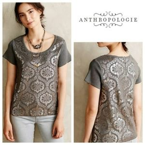 Anthropologie Moth | Drawing Room Pullover M